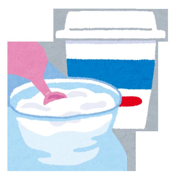 乳製品の食べるヨーグルト