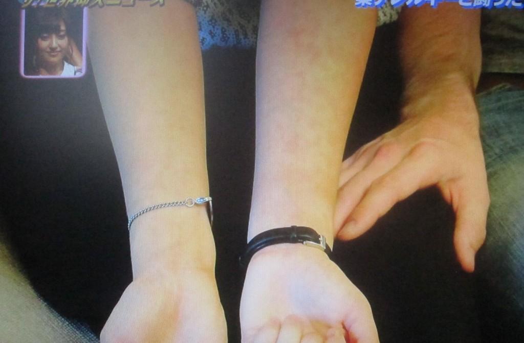 腕の皮膚・肌には微かに症状の痕が残っている